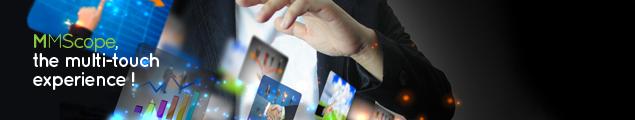 MMScope - L'expérience multi-touch